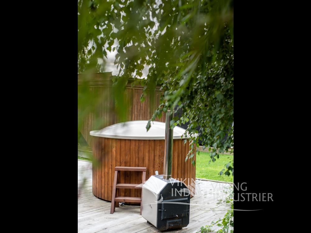 1.8 M Fiberglass Hot Tub; 1.8 Fiberglass With Outside Heater ...