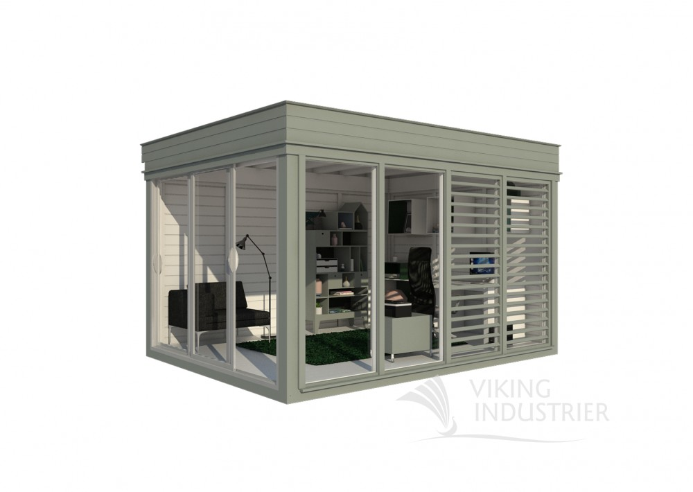 Insulated Office Cube 3x4 | VIKING INDUSTRIER