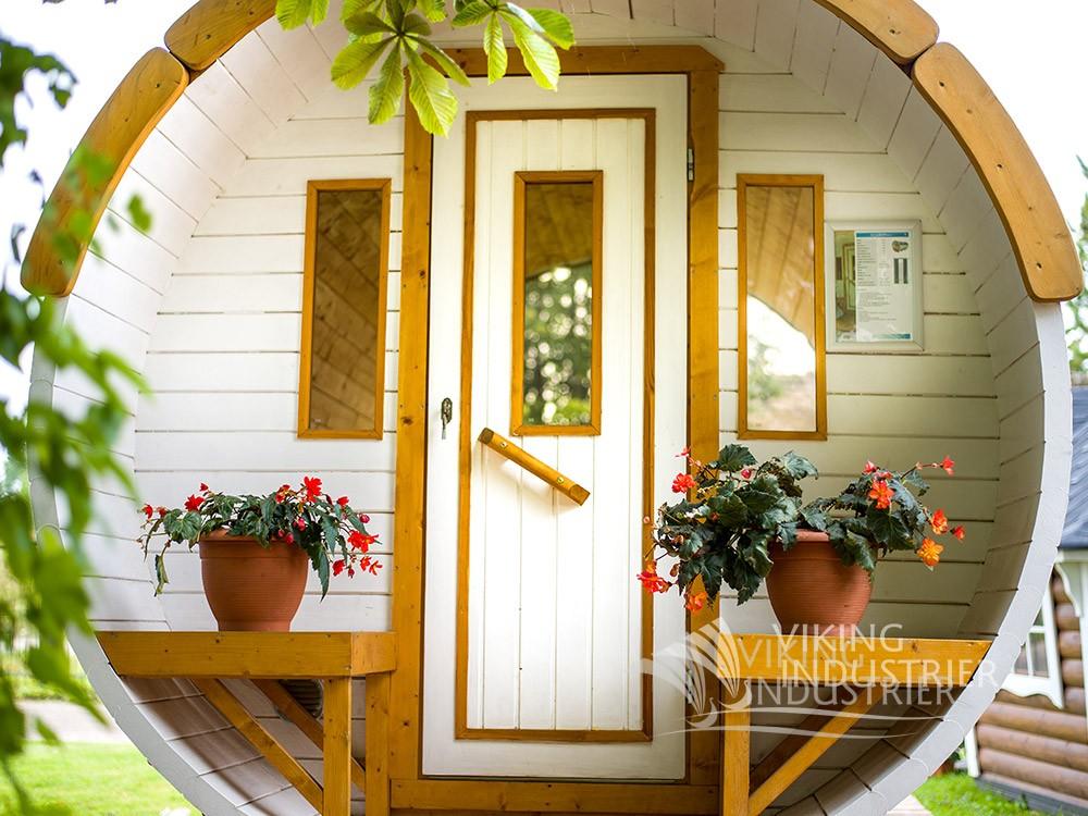 Sauna barrel Ø2.2 x 3 m   VIKING INDUSTRIER