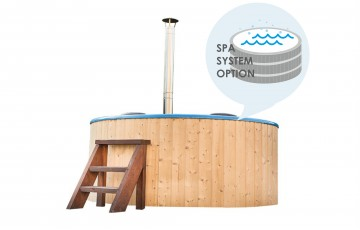 Ø1.8m Fiberglass Hot tub With SPA