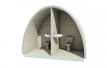 Bespoke Project WC Pod for Camping