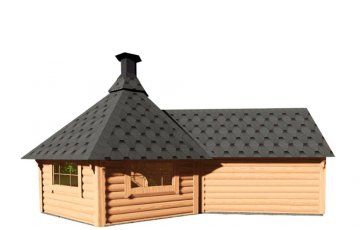 Grill Cabin 9.2 m² With Sauna Extension