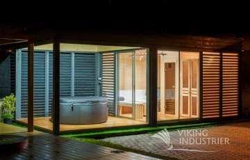 Bespoke Projects Sauna Cube Modular system