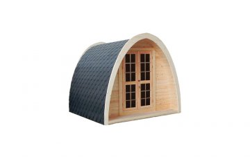 Camping pod 2.4 x 4 from spruce