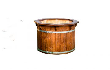 Round Cold Tub from spruce