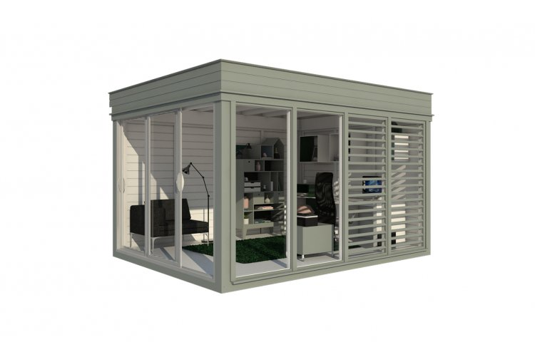 Insulated Office Cube 3x4