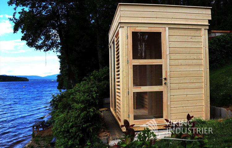 Custom Edition Sauna Cube 2x3