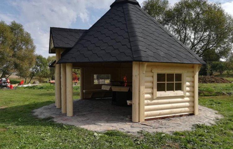 Open Grill Cabin 14.9 m²