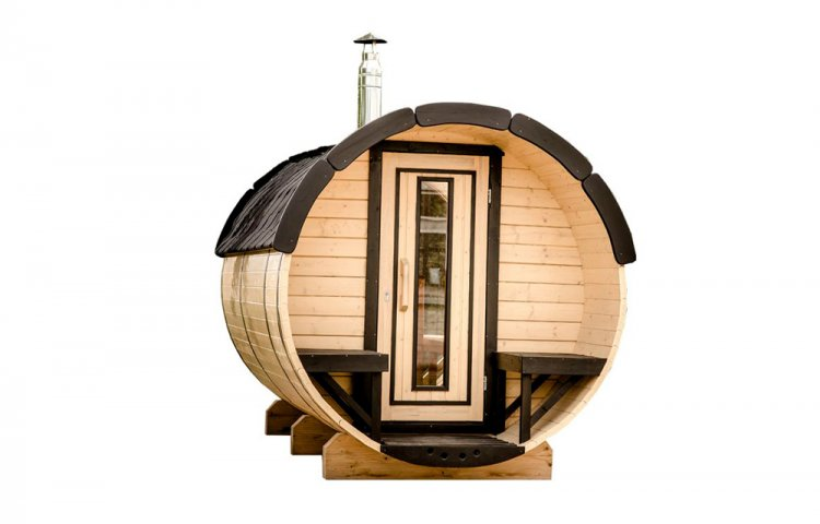 Sauna barrel Ø1.9 x 3 m