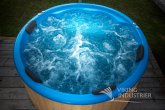 Hydro Massage System in Fiberglass Hot tub