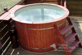Polypropylene Hot Tub with polypropylene benches