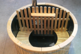 Polypropylene Hot Tub with wooden benches