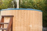 Hot Tub  Wood finishing from spruce