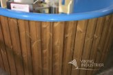 Hot Tub Wood finishing from thermowood